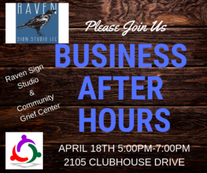 Business After Hours - Raven Sign Studio & Community Grief Center @ Community Grief Center | Lillian | Alabama | United States