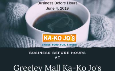 Business Before Hours at Ka-Ko Jo's