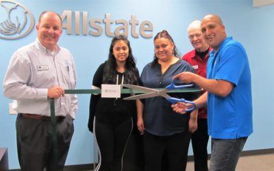 Ribbon Cutting at Chris Lucio's Allstate Office