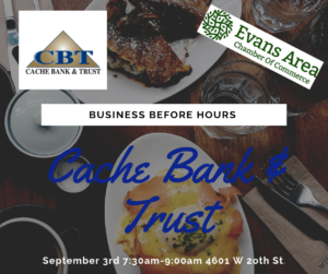Business Before Hours at Cache Bank & Trust @ Cache Bank & Trust | Greeley | Colorado | United States