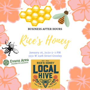 Business After Hours at Rice's Honey @ Rice's Honey | Greeley | Colorado | United States