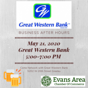Business After Hours at Great Western Bank @ Great Western Bank | Greeley | Colorado | United States