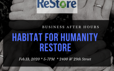 Business After Hours at Habitat for Humanity ReStore