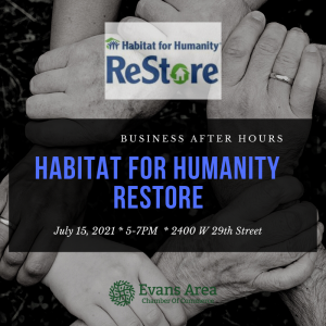 Business After Hours at Habitat for Humanity ReStore @ Greeley-Weld Habitat For Humanity Restore | Greeley | Colorado | United States
