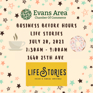 Business Before Hours at Life Stories @ Life Stories Child & Family Advocacy   Greeley   Colorado   United States