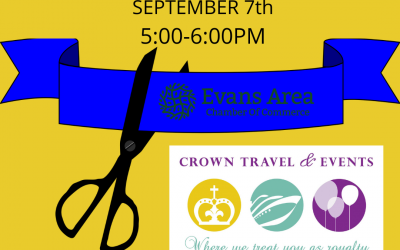 Ribbon Cutting for Crown Travel & Events, LLC