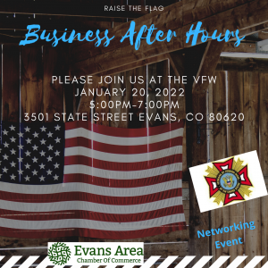 Business After Hours at Adamson-Warmuth VFW #6624 Evans @ VFW #6624 | Evans | Colorado | United States