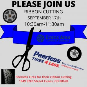 Ribbon Cutting Peerless Tires Evans @ Peerless Tires | Evans | Colorado | United States